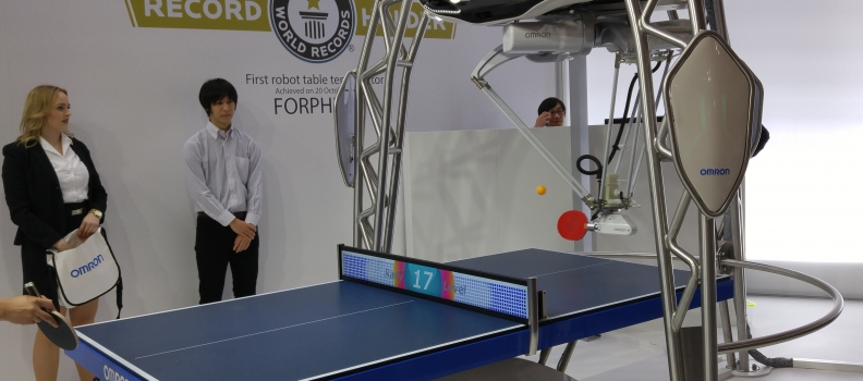The Robot Apocalypse Starts With Ping Pong?